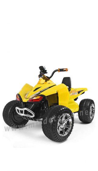Квадроцикл с прочным корпусом Bambi M 3620EL-6 желтый