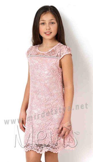 Нарядное гипюровое платье для девочек Mevis 2782-03
