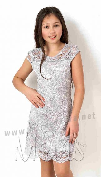 Нарядное кружевное платье на девочку Mevis 2782-01