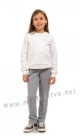 Штаны трикотажные для девочки KidsCouture 71172101534