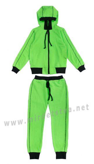 Салатовый спортивный костюм KidsCouture 71394605