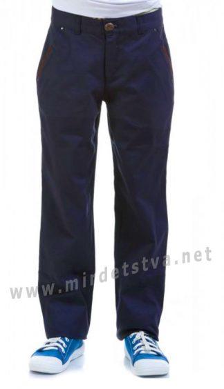 Синие брюки для мальчика KidsCouture 1711632194