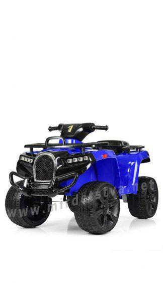 Синий квадроцикл Bambi ZP5138E-4 на больших колесах