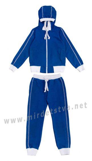 Синий трикотажный костюм KidsCouture 71394503