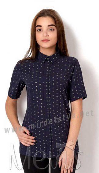 Синяя блуза на подростка Mevis 2660-04