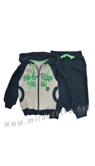 Трикотажный спортивный костюм для мальчика Бемби КС518