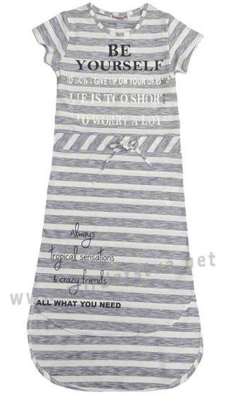 Удлиненное платье на девочку Dominik K-19-7039
