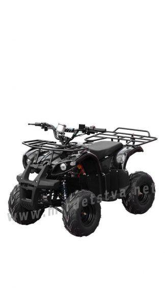 Черный квадроцикл на аккумуляторе Profi HB-EATV800N-2 V2