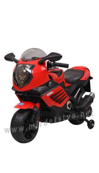 Детский мотоцикл со страховочными колесами Bambi M 3578EL-3