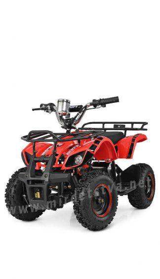 Красный электроквадроцикл Profi HB-EATV800N-3S (MP3)