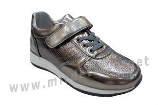 Кроссовки для девочки B&G DR19-02 цвета платина