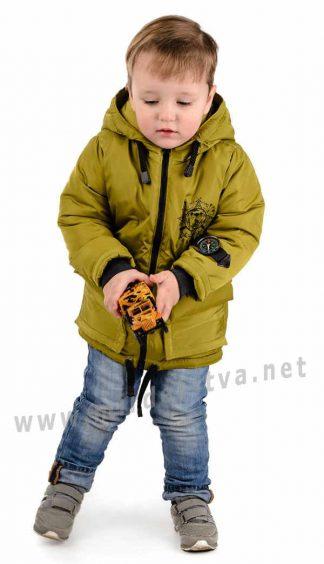 Модная демисезонная куртка для мальчика Traveler Компас