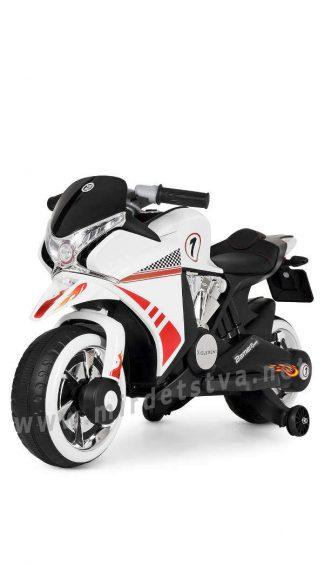 Мотоцикл детский Bambi M 3682L-1 белый