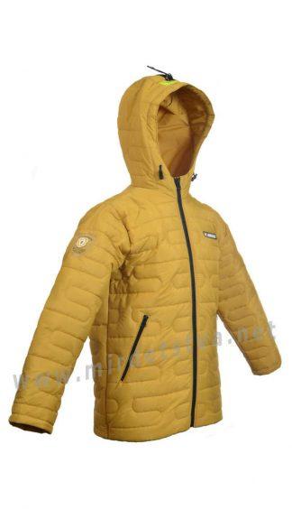 Осенняя стеганая куртка на мальчиков Traveler Лабиринт