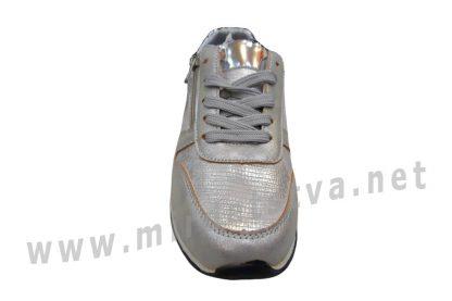 Серебристые кроссовки для девочки B&G DR19-06