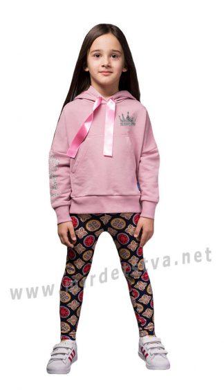 Толстовка широкая для девочки Овен Надин 19Д1-452-1