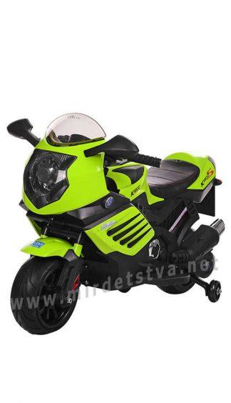 Яркий детский мотоцикл Bambi M 3578EL-5