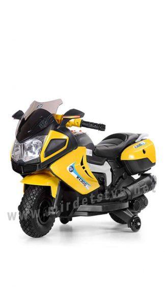 Желтый мотоцикл BMW для детей Bambi M 3625EL-6
