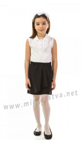 Детская черная школьная юбка KidsCouture 7171120226