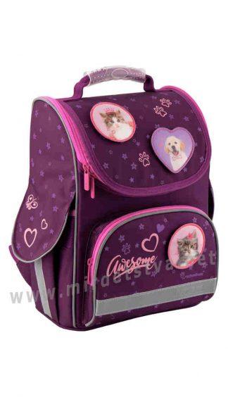 Детский рюкзак для школы со съемными бейджами Kite Education Rachael Hale R19-501S_1