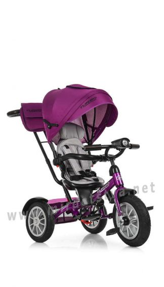Детский велосипед с родительской ручкой Turbo Trike M 4057-8