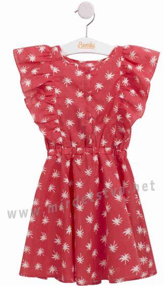 Детское летнее сатиновое платье на девочку Бемби ПЛ239
