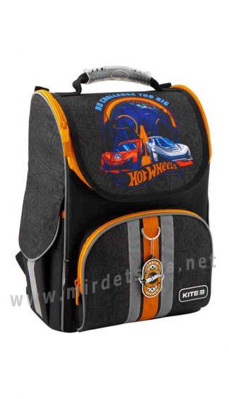 Каркасный ранец для мальчика младшей школы Kite Education Hot Wheels HW19-501S-2