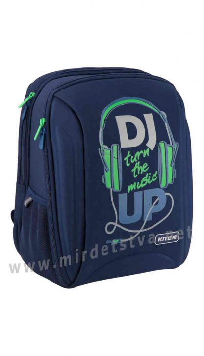 Каркасный рюкзак для школьников Kite Education Music Up K19-732S-2
