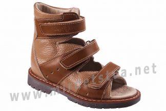 Кожаные ортопедические сандалии с высоким задником 4Rest Orto 06-257
