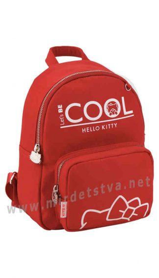 Красный рюкзак для дошкольницы Kite Kids Hello Kitty HK19-547-2