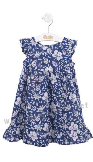 Летнее детское платье для девочки на 1 — 2 годика Бемби ПЛ247