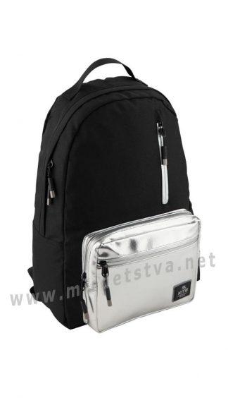 Молодежный ранец с серебром Kite City K19-949L-2