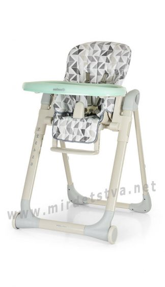 Надежный стульчик для кормления EL CAMINO ME 1031 Major nordic gray