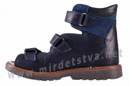 Ортопедические сандалии Valgus с высоким и жестким задником для мальчика 4Rest Orto 06-2452