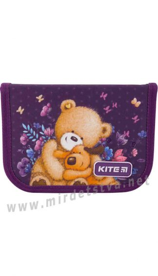 Пенал книжка Kite Education Popcorn the Bear PO19-622