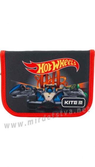 Пенал книжка для школы Kite Education Hot Wheels HW19-621-1