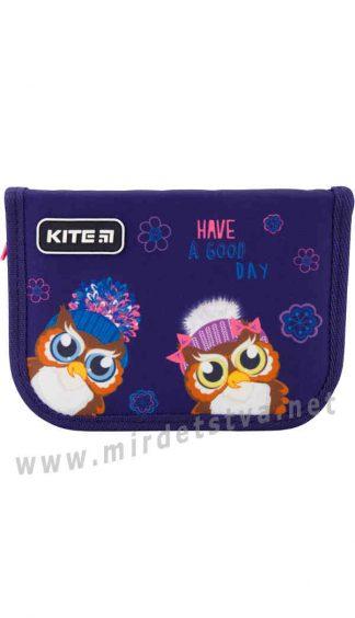 Пенал книжка школьный Kite Education Owls K19-622-5