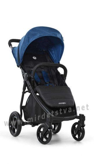 Прогулочная детская коляска EL CAMINO ME 1032L Escape Denim black