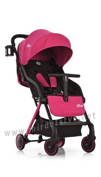 Прогулочная коляска книжка EL CAMINO ME 1036L MIMI Candy Pink