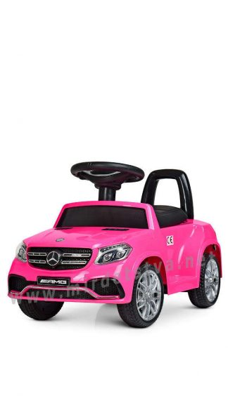 Розовая машина электромобиль Bambi M 4065EBLR-8