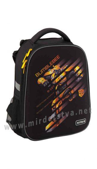 Рюкзак фирмы Kite школьный каркасный Education Transformers BumbleBee Movie TF19-531M