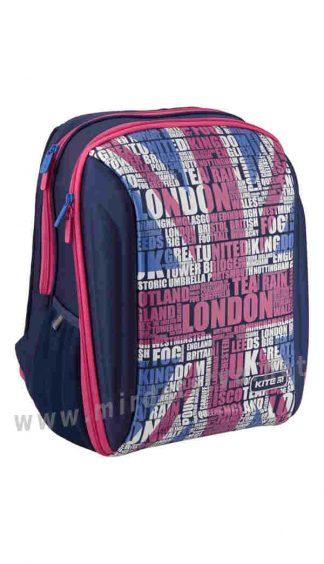 Школьный каркасный рюкзак Kite Education London K19-732S-1