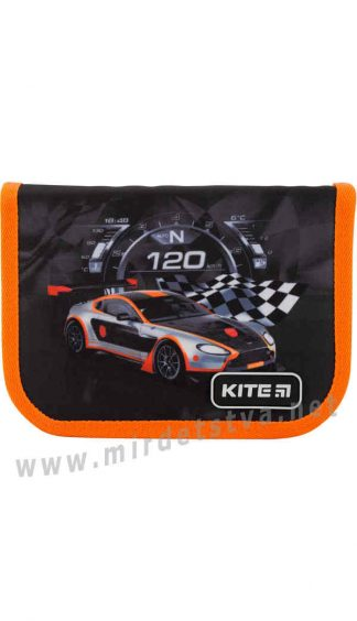 Школьный пенал для мальчика Kite Education Winner race K19-621-6