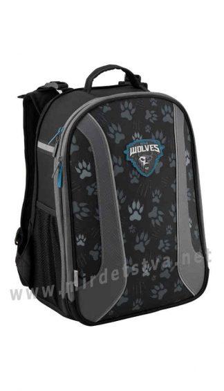 Жесткий рюкзак для школы Kite Education Wolf K19-703M-2