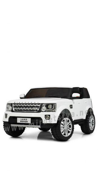 Белый джип Land Rover Bambi M 4063EBLR-1