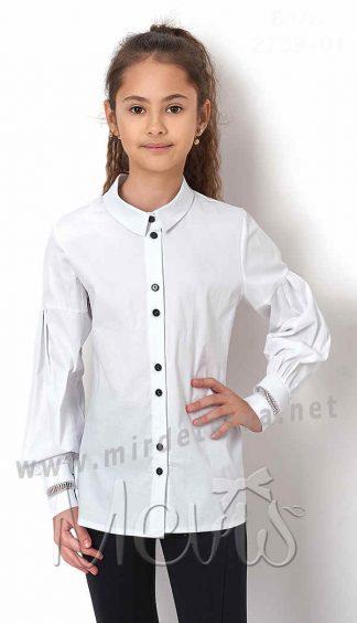 Блуза для девочки Mevis 2759-01 хлопок
