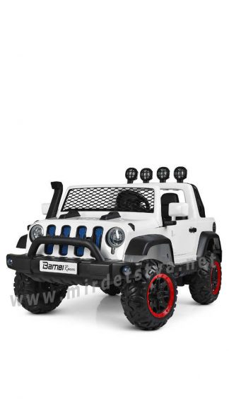 Детский электромобиль джип Bambi M 4061EBLR-1