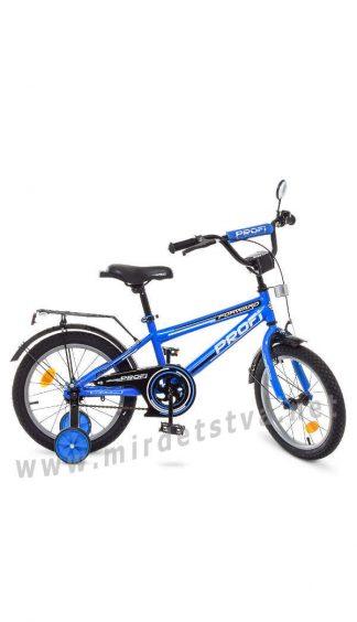 Детский велосипед для мальчика Profi 16д T1673