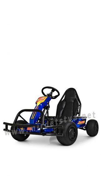 Электрокарт на резиновых колесах Profi M 4041-4