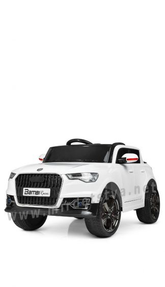 Электромобиль Audi Bambi M 3998EBLR-1 white